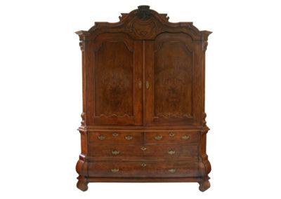 dutch cabinet walnut on oak