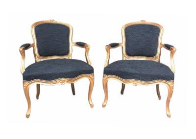 set fauteuils a la reine