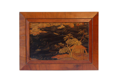 Japanese Lacquer Panel 18th century