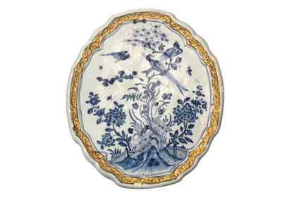 Plaque Delft ca 1750