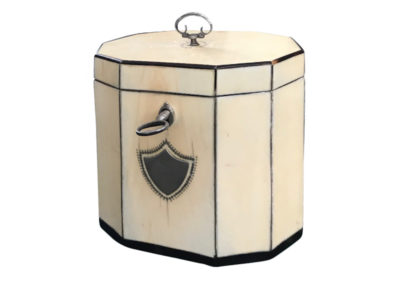 Ivory tea box