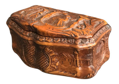 Tobacco Box Palmwood